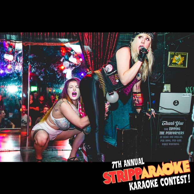 YOUR 7TH ANNUAL STRIPPARAOKE KARAOKE CONTEST WINNER IS...