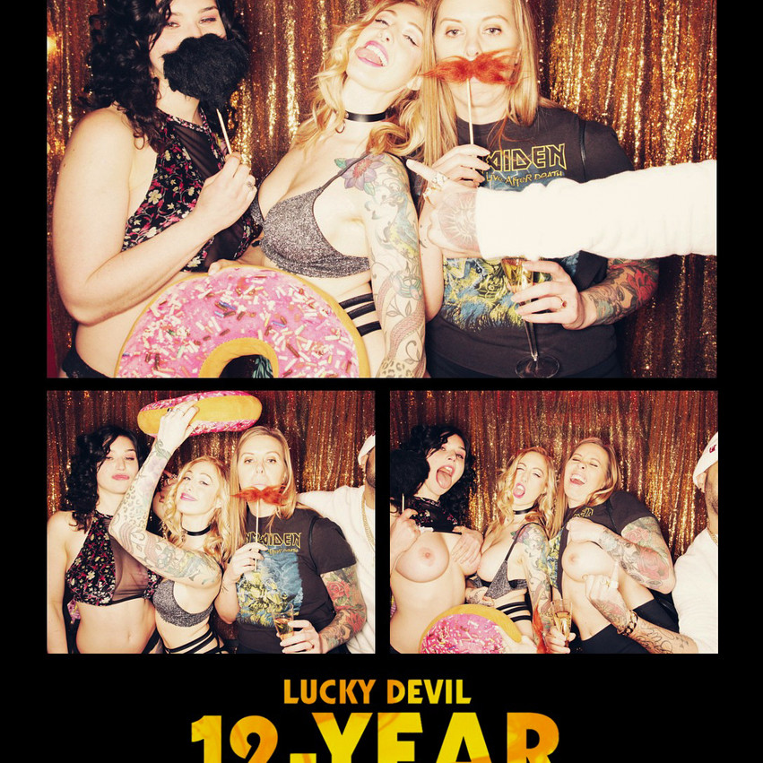 12-YEAR ANNIVERSARY PARTY PICS