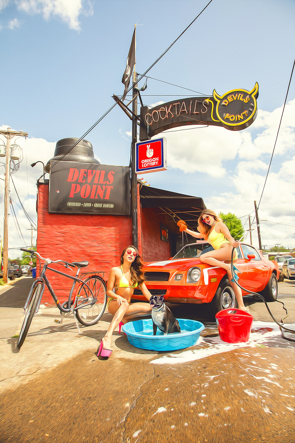 Devils Point 11th Annual Bikini Car & Dog Wash this Sunday!