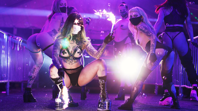 LUCKY DEVIL DANCER SCHEDULE • TUE, AUG 25 - MON, AUG 31 • 2020