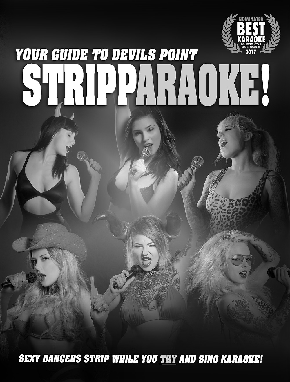 Download our guide to Devils Point Stripparaoke