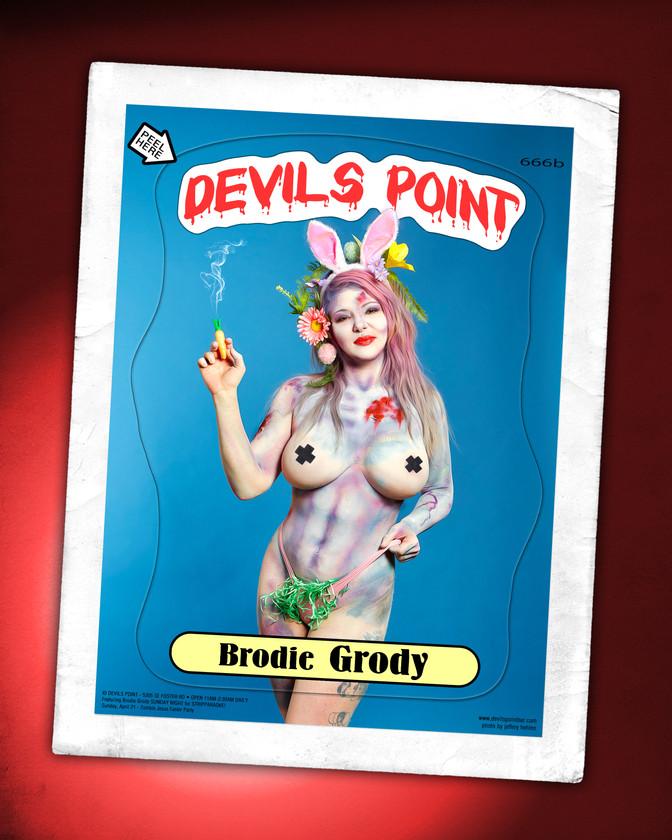 DEVILS POINT DANCER SCHEDULE • TUE, APR 16TH - MON, APR 22ND • 2019