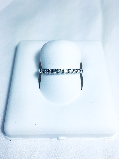 Geniune diamond Anniversary ring.