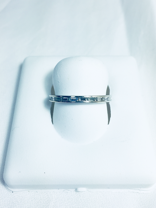 Genuine diamond Eternity ring.