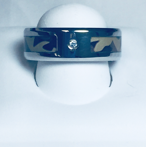 Stainless Steel Band with Camo1