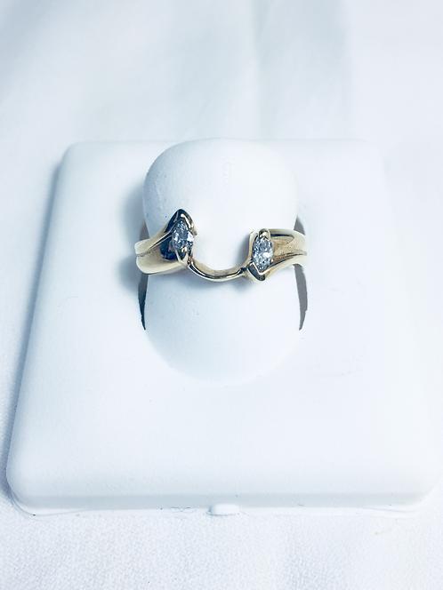 Genuine diamond ring jacket