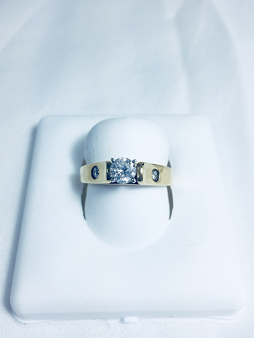 Genuine diamond Engagement ring.