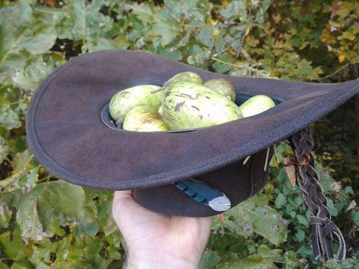 The woodsman's catcher's mitt and treasure keeper!  ;-)