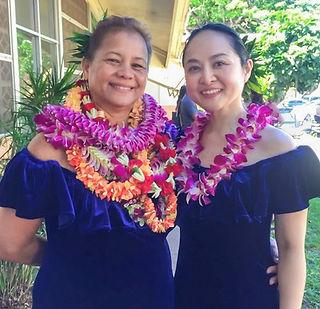 WandaMae Pa'akea Akiu & Yoshiko Makalapua