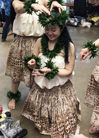 '18He Lei ʻIliahi Poinaʻole Hula Fes