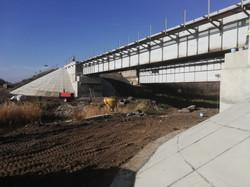 Капитальный ремонт моста на 233 км