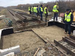 Капитальный ремонт моста на 216 км