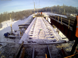 Капитальный ремонт моста на 1709 км