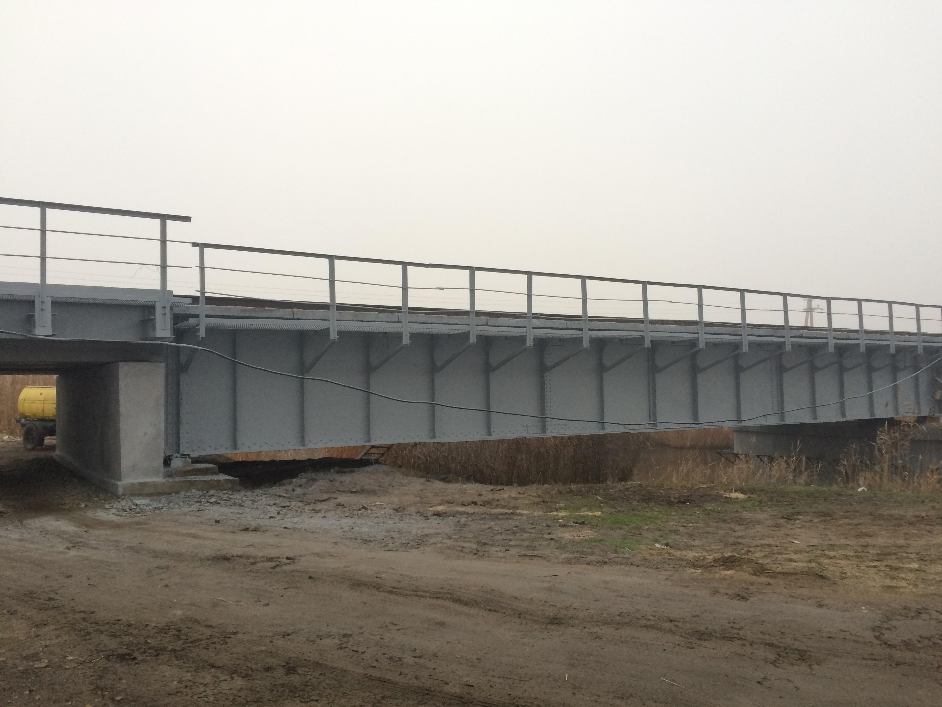 Капитальный ремонт моста на 329 км