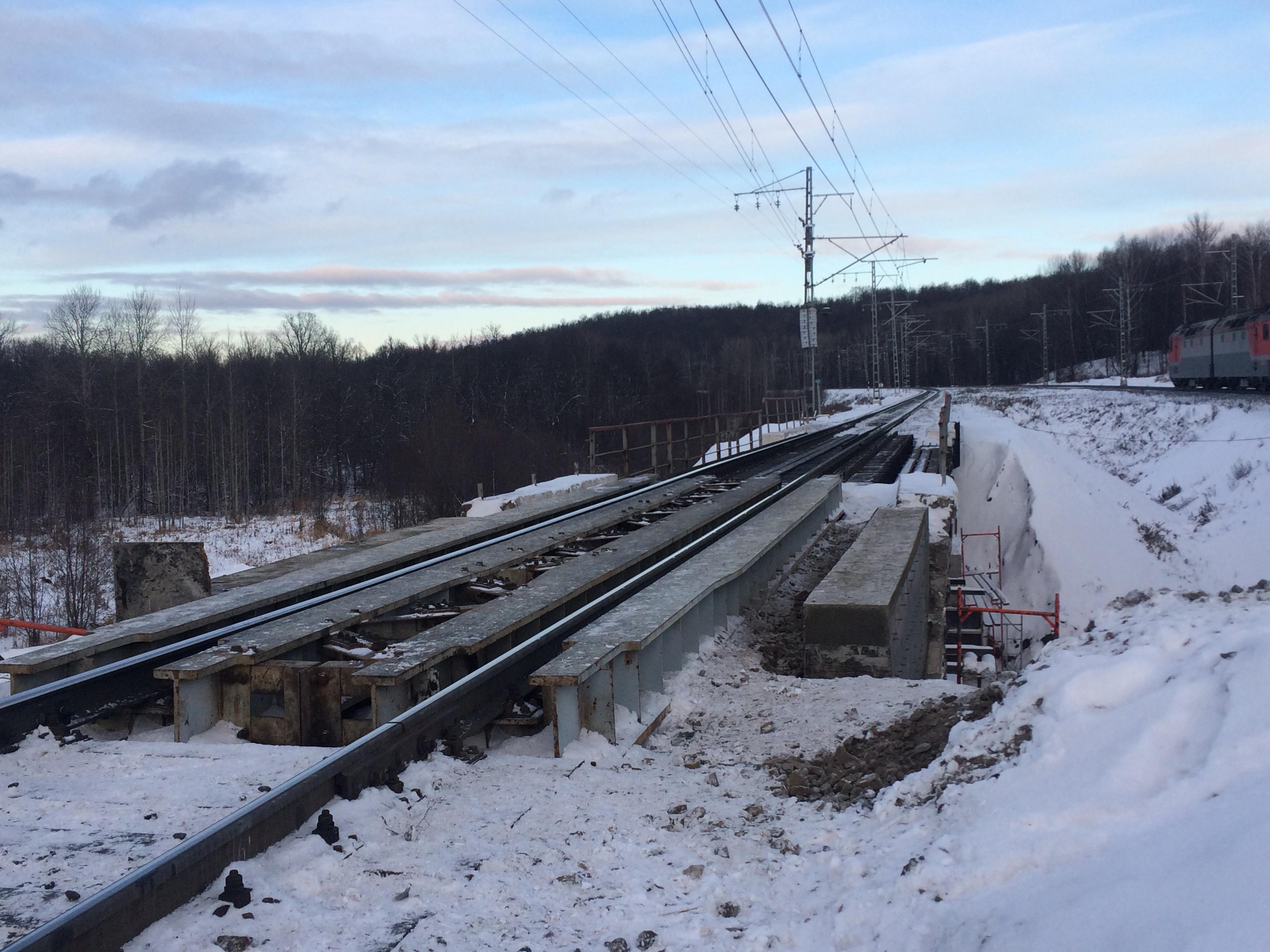 Капитальный ремонт моста на 1709 к