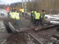 Капитальный ремонт моста на 1424 км