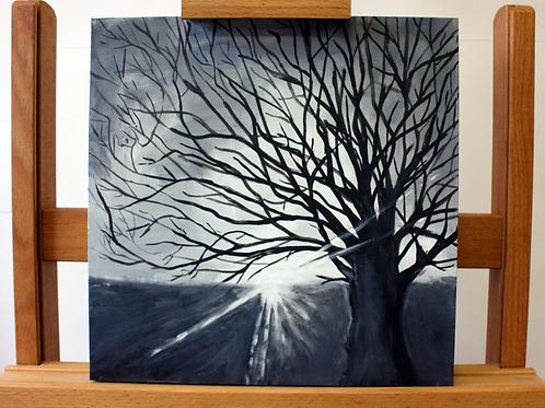 'Tree' - Acrylic