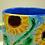 Thumbnail: Ceramic Mug with Sunflower Design