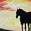 Thumbnail: 'Silhouette in a Sunset' - Acrylic