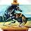 Thumbnail: 'Tiger and a Horse' - Acrylic