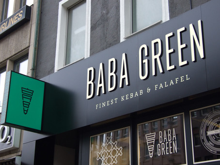 NOT JUST ANOTHER FALAFEL AND KEBAB PLACE: BABA GREEN