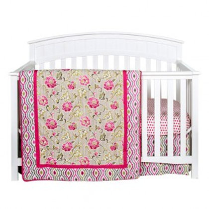 3-Piece Crib Set - Jazzberry