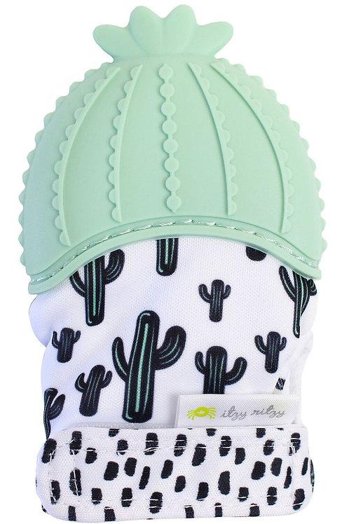 Cactus Teething Mitt