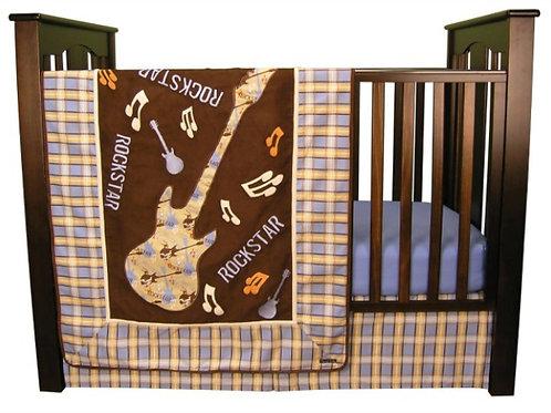 3-Piece Crib Set - Rockstar