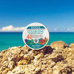 SPF40 Clear Zinc Sunscreen Tin