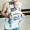 Thumbnail: Gray Stripe | Classic Baby K'Tan Carrier