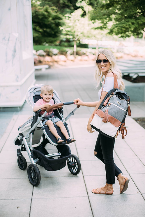 The Boss | Backpack Diaper Bag