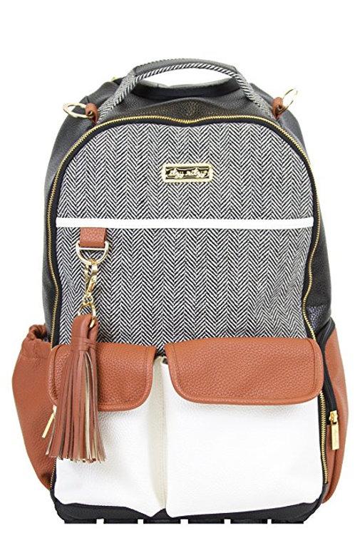 Coffee & Cream Boss Backpack | Diaper Bag