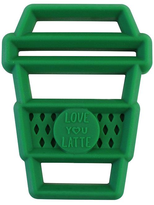 Love You Latte Chew Crew Teether