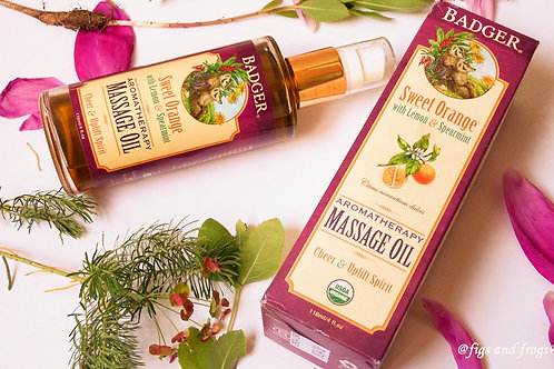 Sweet Orange Massage Oil