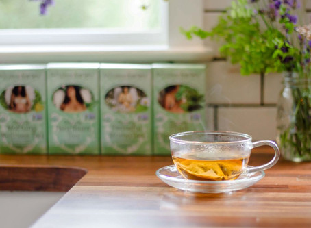 Tea Time with Earth Mama Organics | Organic Milkmaid French Vanilla Chai
