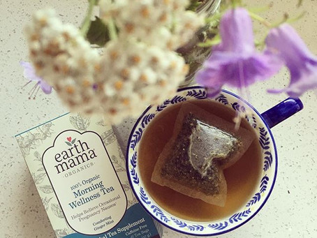 Tea Time with Earth Mama Organics | Mama's Ginger Mint Mock-TEA-Ni