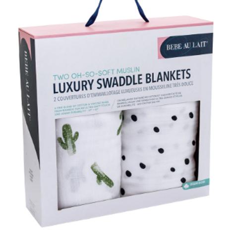 Two-in-One Swaddle Blanket | Saguaro & Dottie
