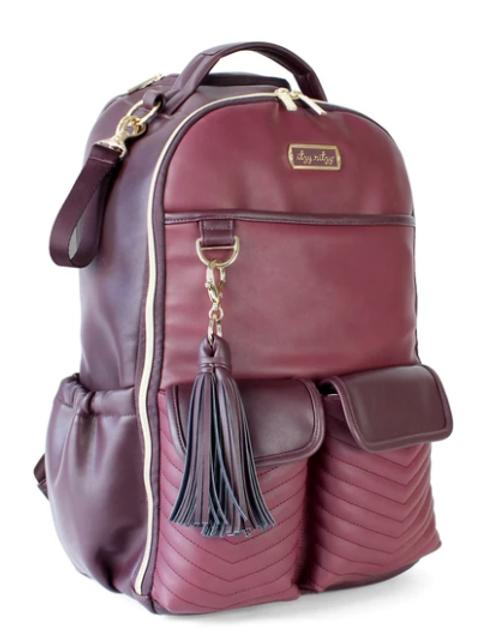 Merlot Boss Backpack | Diaper Bag