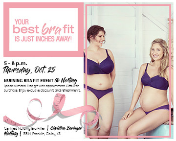 Nursing Bra Fit Event at Nesting