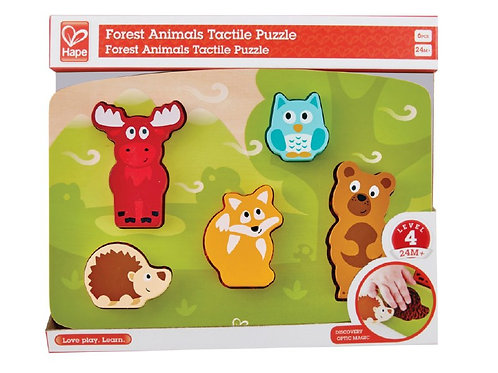 Tactile Puzzle - Forest Animal