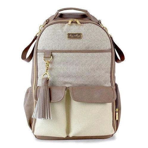 Vanilla Latte Boss Backpack | Diaper Bag