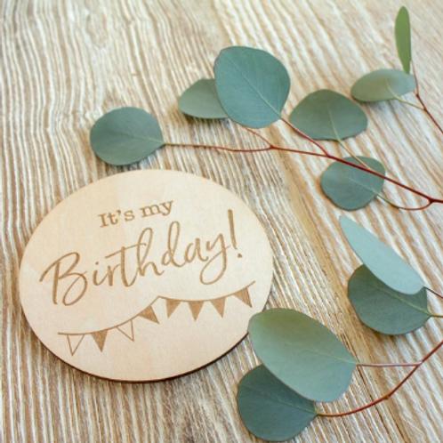 Milestone Disc - It's My Birthday