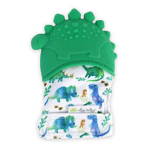Dinosaur Teething Mitt