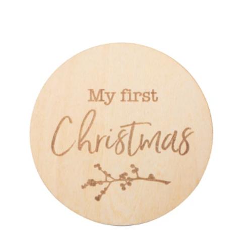 Milestone Disc - 1st Christmas