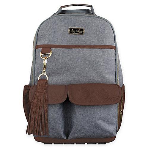 Handsome Heather Boss Backpack | Diaper Bag