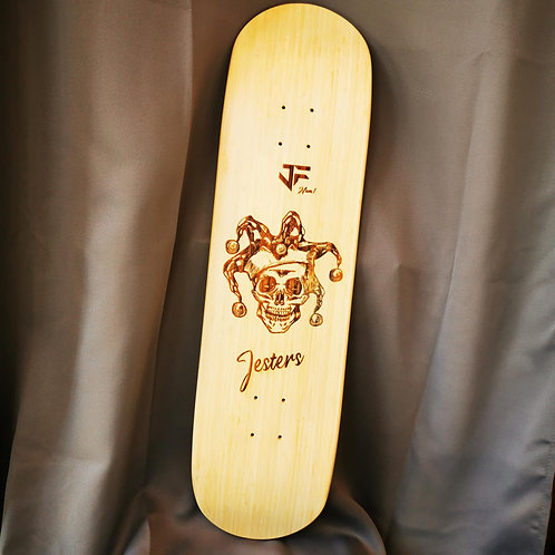 "Deck JF  Jeasters Skateboards 8,25"" street hand-made Swiss shape"