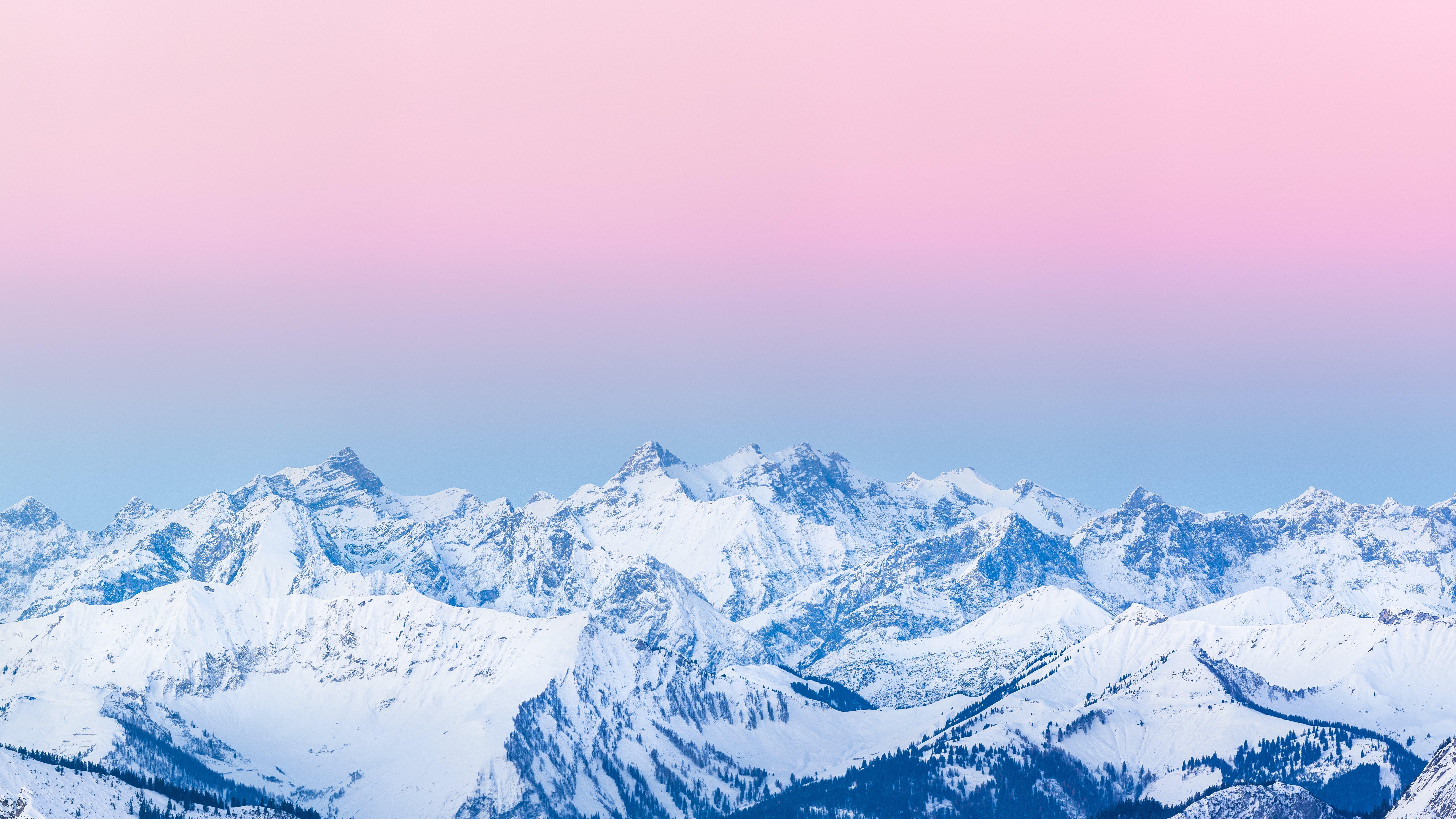 Pinker Sonnenaufgang