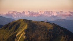 Karwendel im Morgenrot