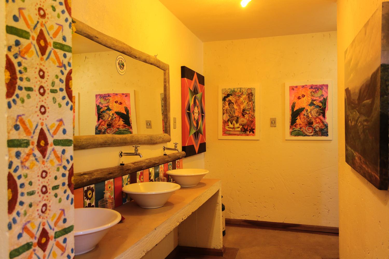 Banheiro integrado
