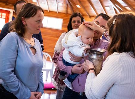 Batizado do Matteo